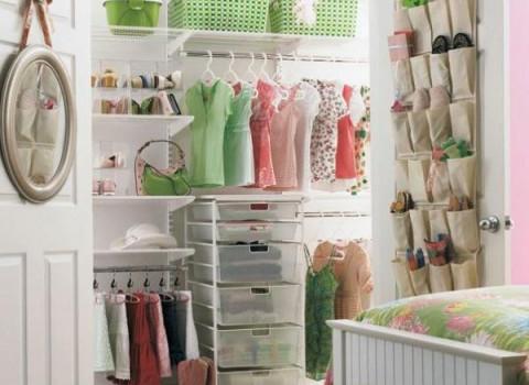Хранение детской одежды